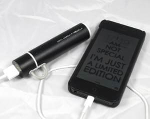 MiPow läd iPhone