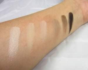 Naked Basic Swatches