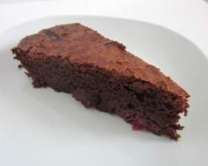 Schoko Kirsch Brownie