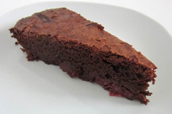 Schoko Kirsch Brownie