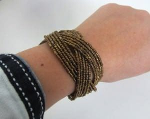 Armband Steinperlenwelt