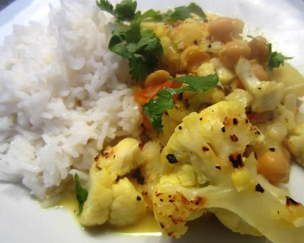 Blumenkohl curry