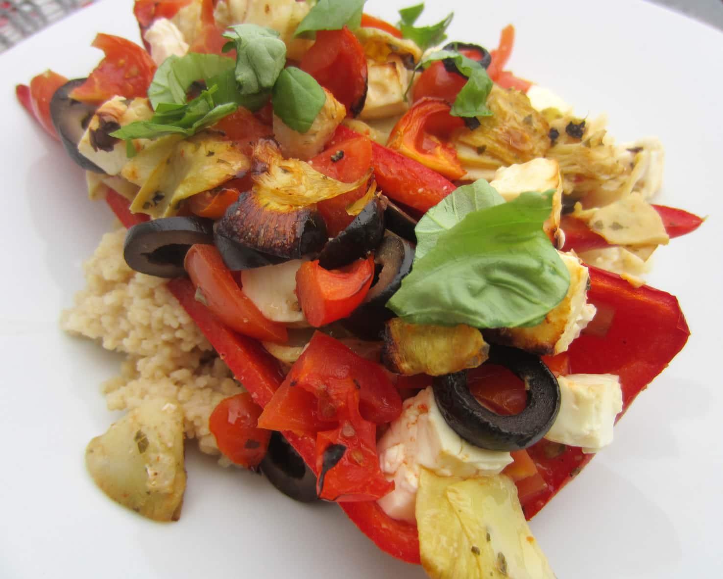 [Rezept der Woche] Paprikaschiffchen auf Couscous