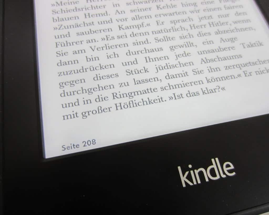 Kindle Seitenanzahl
