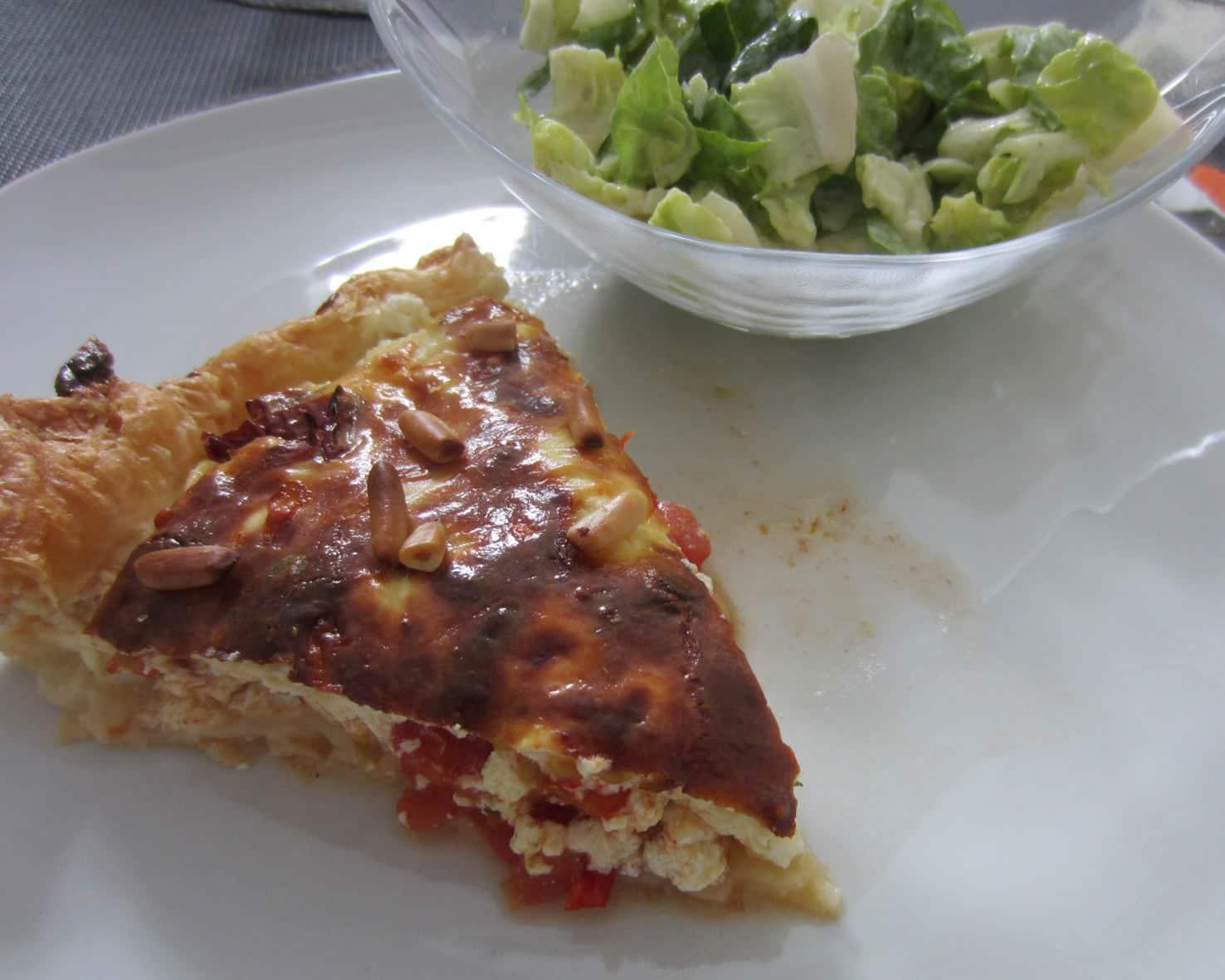 [Rezept der Woche] Tomaten-Ziegenkäse-Tarte