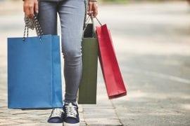 Shopping im Urlaub