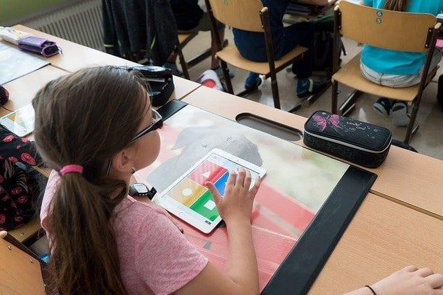 Digitaler Unterricht in digitalen Klassenzimmern