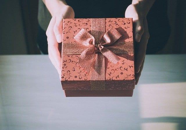 Explosion Box als Geschenkidee